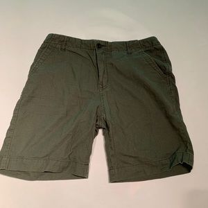 UO olive green shorts